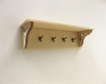 Miniature Coat Rack Shelf