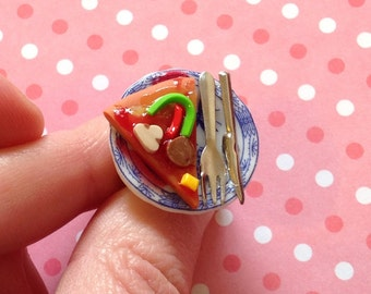 Pizza Party Brooch Pin