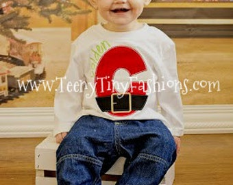 Santa Alphabet ~ Personalized Breakfast with Santa ~ Christmas Holiday Pictures ~ Christmas shirt ~ holiday shirt