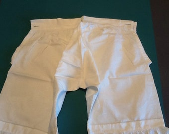 Antique Victorian Edwardian Child's Bloomers Pantaloons 1880's