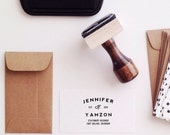Logo Business Card Stamp