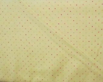 Yellow Dot Fabric - Tweet Collection - Timeless Treasures