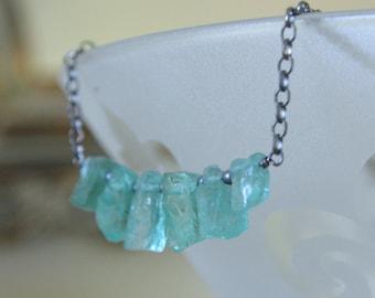 Apatite Crystal Necklace