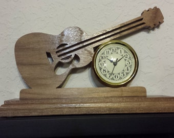 Large version of the Guitar Clock