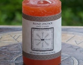 ROAD OPENER Signature Spell Candle by Witchcrafts Artisan Alchemy