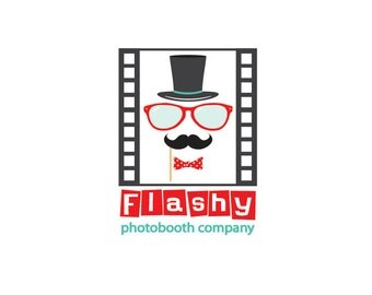 Custom Business Logo Design, Photobooth Logo Design