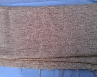 Rayon or Cotton or Blend Linen Look Fabric  4yd