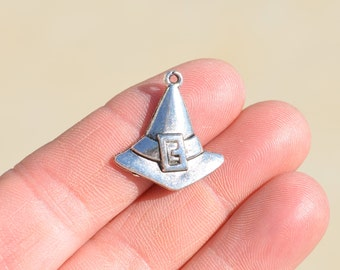 1 Silver Witch Hat  Charm SC1144