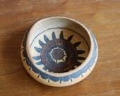 Vintage Hand Crafted Planter, Native Design