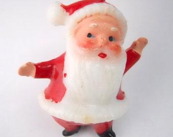 1960s Santa Clause Christmas ornament