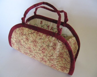 Embroidered Pouch / Sewing Case