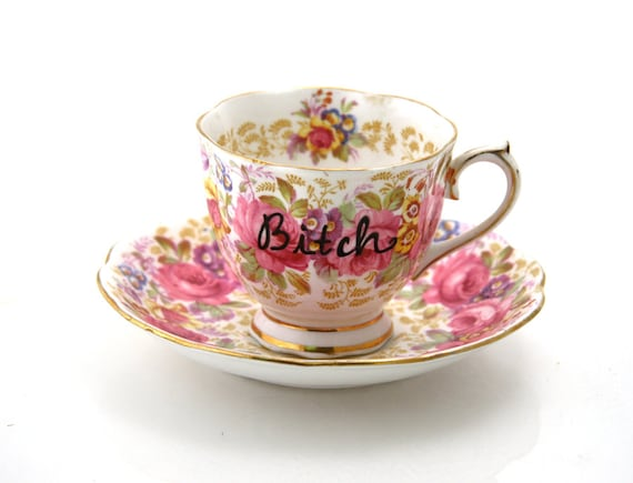 Tea Cup Inspired By Lady Gaga,  Mature