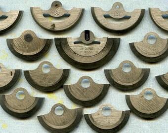 set of 16 vintage watch parts...  K4