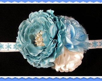 Toddler Headband-Baby Bow Headband-Baby Headband-Infant Headband-Wedding-Flower Girl-Photo Prop- Couture-Baby Headbow-Customizing,Christenin