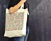 Collective Noun Bag - 100% Cotton Screen Printed Tote Bag