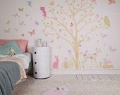 Fabric Wall Decal - Love Mae Signature Scene
