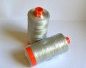 Aurifil 50 WT cotton Thread Grey 2615