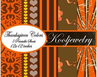 Thanksgiven colors No.3 Paper Pack - No.144