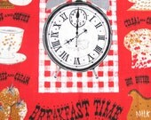 Vintage Towel Breakfast Time MINT