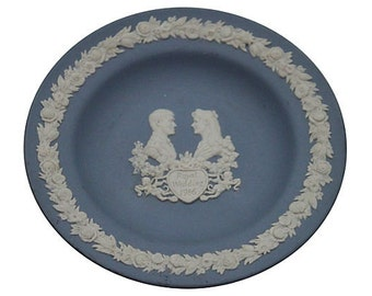 Vintage Wedgwood Jasperware Royal Wedding Dish