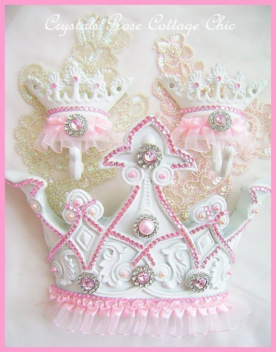 Pink Princess Tutu Bed Crown Canopy Set Ballerina Ballet Girls