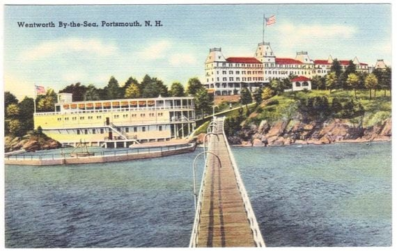 Vintage New Hampshire Postcard - Wentworth By the Sea, Portsmouth (Unused)