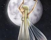 Moondance - Signed print
