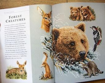 2002/2005 cross stitch patterns  animal collection Jayne Netley Mayhew