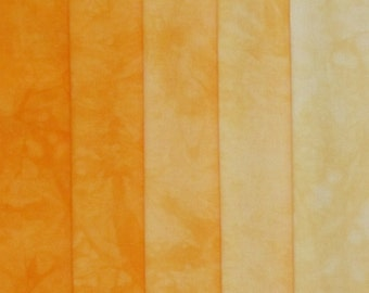 Hand Dyed Fabric Shades - Solstice
