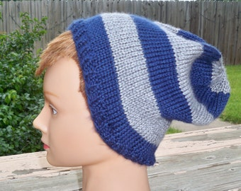 Hat in Ravenclaw Colors