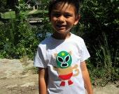 Kitty Luchador - Mexican  Wrestler Cat Toddler T-Shirt