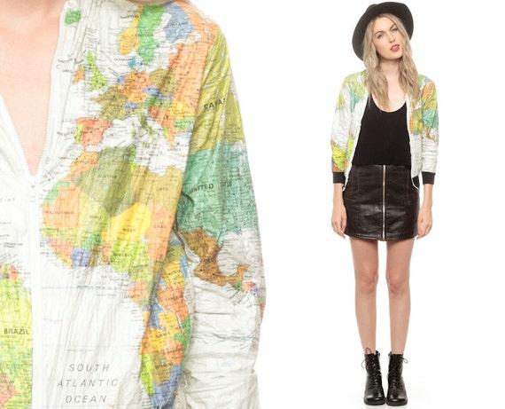 Map jacket tyvek images world map jacket 90s tyvek gumiabroncs Choice Image