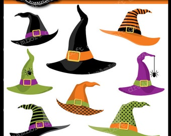 Witches' Hats Digital Clipart for Personal and Commercial Use