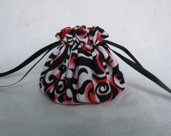Jewelry Tote - Medium Size - Traveling Jewelry Pouch - Travel Bag - FIRE it UP