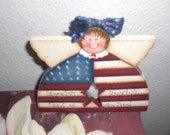 America Flag Votive holder