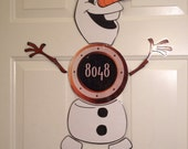 Olaf snowman from warm hugs version 2 Body Part Stateroom Door Magnets for Disney Cruise