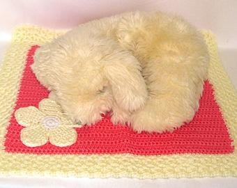 Peach Doggie Blanket - FREE SHIPPING