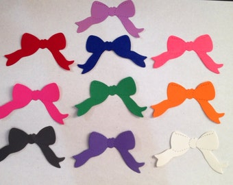 Paper bows die cuts, bow punches, 50 total
