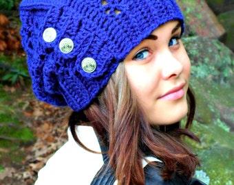 Reva Hat Crochet Pattern