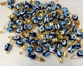 Evil Eye Nazar Beads 15 pieces