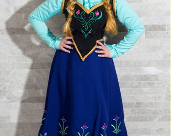 EMBROIDERY PATTERN -- Anna Frozen bodice and skirt pattern