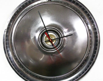 Chrysler Cordoba Wall Clock - Mopar Hubcap Clock - 1975 1976 1977 1978 1979 - SALE