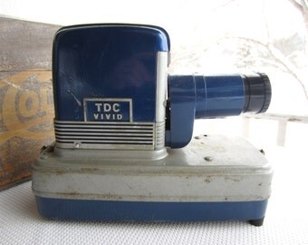 Vintage TDC Slide Projector Vivid Show Pak 300 Industrial Decor