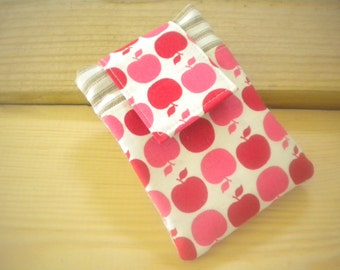 Apples iPhone/Smart Phone Case,, Cell Phone Case , Red and  Pink, Teacher Gift