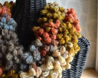 Pumpkin Latte Knit Scarf