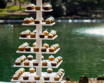 Wedding Cupcake Stand, Holds Over 200