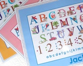 Reserved for Personalized Alphabet Placemat for Annalena