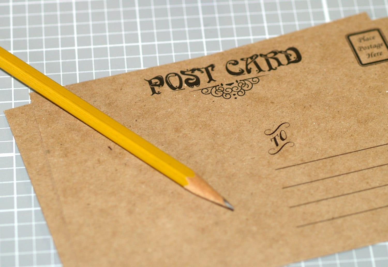 Kraft Postcards 20 ... Chipboard Cards 4 x 6 4x6