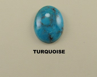 Turquoise Oval Designer Cabochon for Jewelry Artisans