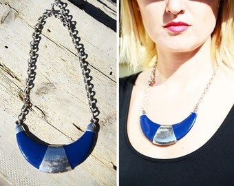 Crescent Moon 80s/90s Necklace Accessory